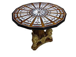 Vintage Possibly Italian Pietra Dura Table