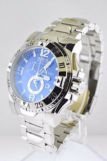 Invicta Reserve Chronograph Men's Wristwatch in Stainless Steel - $3K VALUE