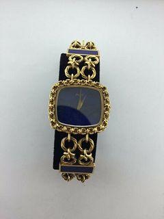 Piaget Ladys 18KYG w/YG Bracelet w/ Lapis Lazuli,Dial.BNC w/Box&Papers.Est$50K!
