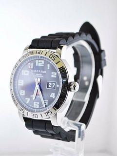 Chopard Gran Turizmo 8955 Men's Wristwatch Water Resistant SS, $12KVALUE, w/Cert