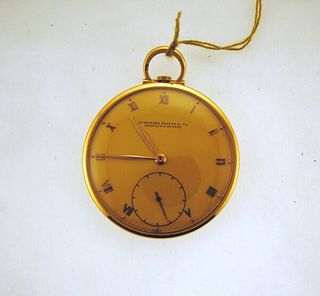 Very Elegant Audemars Piguet 18K YG Pocket Watch - Est. Value $20K, w/Cert!
