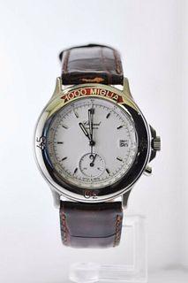 Chopard 1000 Miglia Ref. #8141 Quartz Chronograph Wristwatch SS $10K VALUE