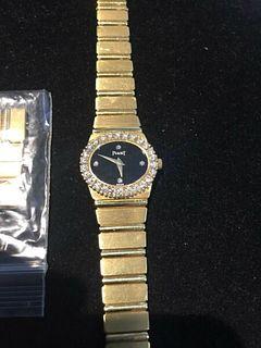 Piaget Polo 18K YG Diamonds,Ladies Quartz Watch,Ref 8306C 701,w/app,Value$40k