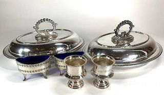Sheffield and Silver Plate Lot