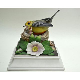 BOEHM PORCELAIN PROTHONOTARY WARBLER