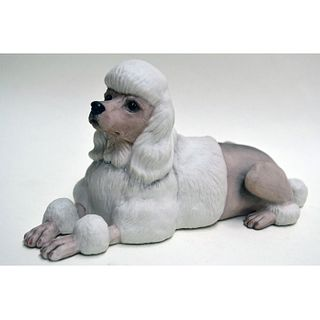 BOEHM PORCELAIN POODLE DOG