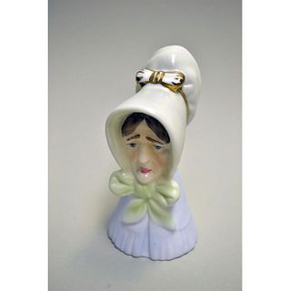 ROYAL WORCESTER OLD LADY CANDLE SNUFFER