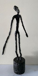 Swiss Bronze Sculpture Alberto Giacometti Skinny Dancer