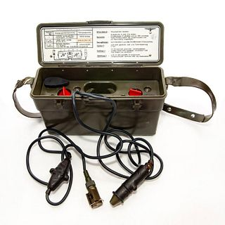 German Battery Box with Optic Lights