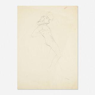 Franz Kline, Untitled (Figure Sketch)
