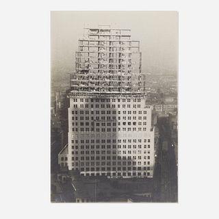 Walker Evans, Untitled (Chrysler Building Construction)