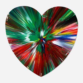 Damien Hirst, Heart spin