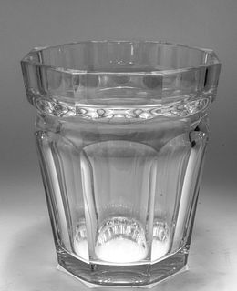 """Baccarat Crystal """"Harcourt"""" Ice / Champagne Bucket"""