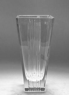"Tiffany & Co. ""Metropolis"" Modern Glass Vase"