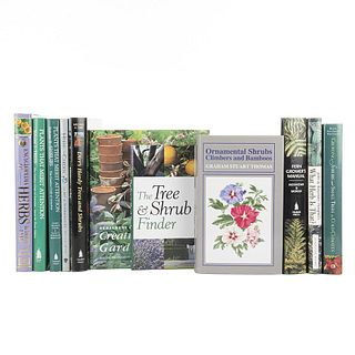 Trees, Plants, Herbs, and Bushes. The Tree & Shrub Finder / Creative Herb Gardening / Ornamental Shrubs... Pieces: 11.