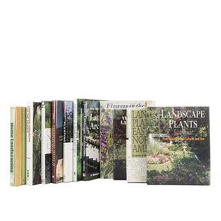 Landscaping. Natural Landscapes / Landscape Handbook for the Tropics / Landscape Architecture... Pieces: 11.