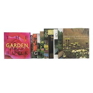 Garden Design. The Well Designed Mixed Garden / Backyard Design / The World of Garden Design / The Garden Makers... Pieces: 10.