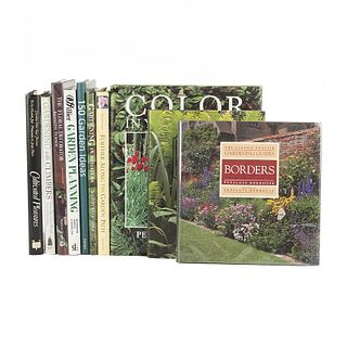 Garden Design. The Classic English Gardening Guides / Architectural Foliage / 150 Garden Ideas... Pieces: 10.
