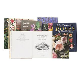 Flowers and Plants for the Garden. Fifty Favourite Roses / The Natural Garden / New Flowers / Gardening with Water... Piezas: 10.