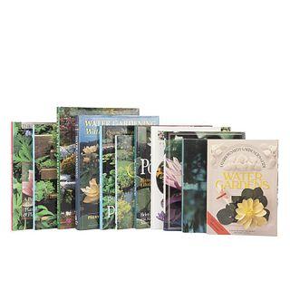 Aquatic Gardens. Monet's Water Lilies/ Water in the Garden / Creating a Beautiful Water Garden / The Pond Doctor... Pieces: 11.