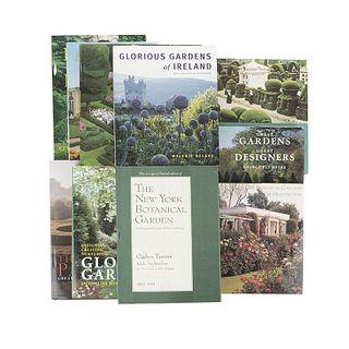 Gardens of Europe. The House & Garden Book of Beautiful Gardens Round the World/ Eden on Their Minds/ Glorious Gardens... Pieces: 10.