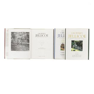 Jellicoe, Geoffrey. The Collected Works. The Studies of a Landscape Designer over 80 Years. Woodbridge, 1993/1995/1996. Pieces: 3
