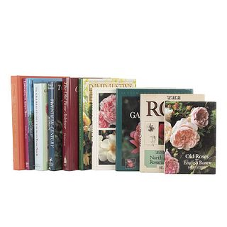 Books About Roses. Twentieth - Century Roses/ Successful Rose Gardening/ English Roses/ The Rose Bible/ The Rose... Pieces: 10.