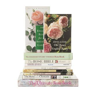 Books About Roses. The Rose and the Clematis as Good Companions/ Climbing Roses/ Modern Garden Roses/ Rose Gardening... Pieces: 10.