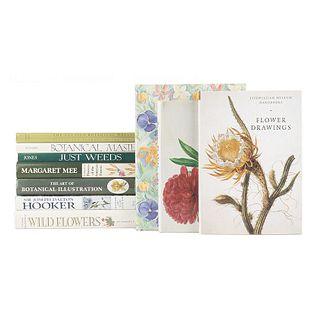 Books on Botany. The Art of Botanical Illustration/ Margaret Mee in Search of Flowers of the Amazon Forests... Pieces: 10.