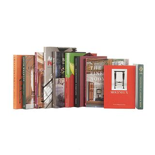 Books on Well-Known Designers. Billy Baldwin the Great American Decorator /Diego Giacometti /Molyneux/Andrée Putman... Pieces: 10.