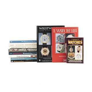 Wristwatches. Time in Gold/ Automatic Wristwatches from Germany, England, France, Japan, Russia, & the USA... Pieces: 11.