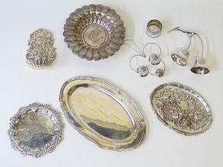 Misc 9pc Sterling Silver items