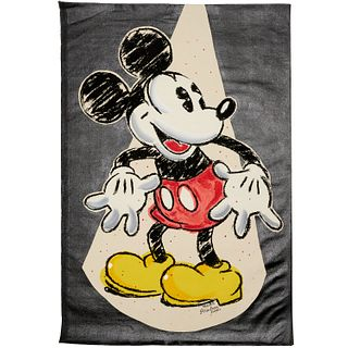 Tom Zotos, Mickey Mouse painting