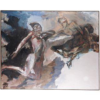 Simon Edmondson, large scale painting