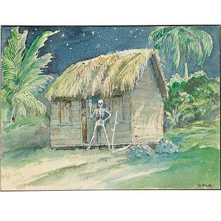 R. Bush, Voodoo painting