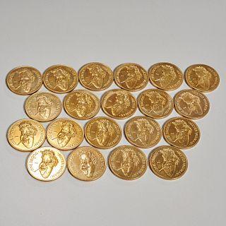 Meyer Vaisman, (20) Droog coins