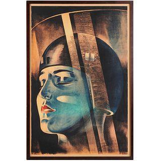 Klebrand, vintage Metropolis movie poster