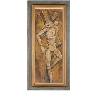 Glenn Smith, crucifixion painting