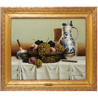 Georges Coulon, still life painting