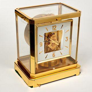 Jaeger Le Coultre square face Atmos clock
