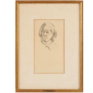 Paul Cezanne, portrait print