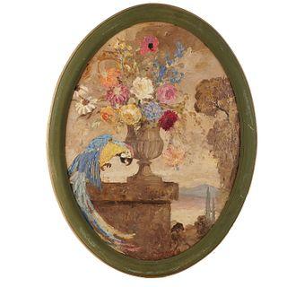Geoffrey Holt, painting
