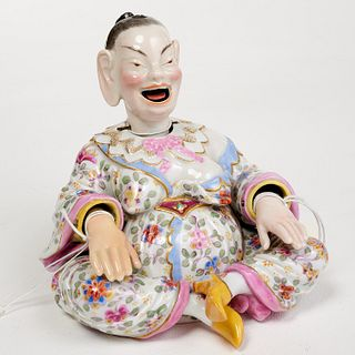 Meissen style porcelain Pagoda nodder