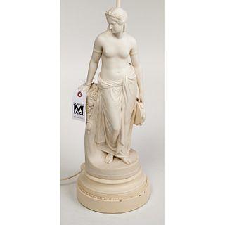 After Marshall, Copeland parian porcelain figure