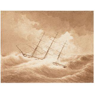 Ivan Aivazovsky (manner), maritime drawing