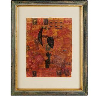 Claes Oldenburg (after), collage