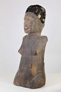 African Makonde Helmet Mask