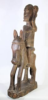Large African Carved Warrior, Dogon People of Mali