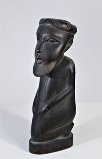 African Hand Carved Wooden Figure