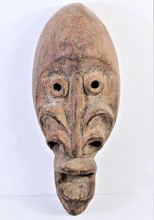 Antique Carved African Mask